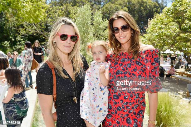 Molly Sims and Cindy Crawford attend Cindy Crawford and Kaia Gerber host Best Buddies Mother's Day Brunch in Malibu CA sponsored by David Yurman on...