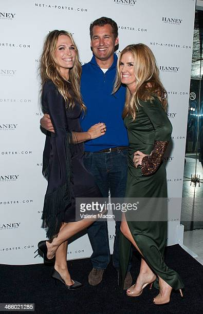 Molly Sims and Mary Alice Haney arrive at the Haney Launch Party With NetAPorter at mmhmmm at The Standard Hollywood on January 30 2014 in Hollywood...