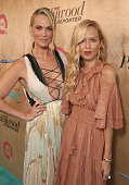 Molly Sims and Rachel Zoe attend the Ovarian Cancer Research Fund Alliance's 3rd Annual Super Saturday Los Angeles at Barker Hangar on June 11 2016...