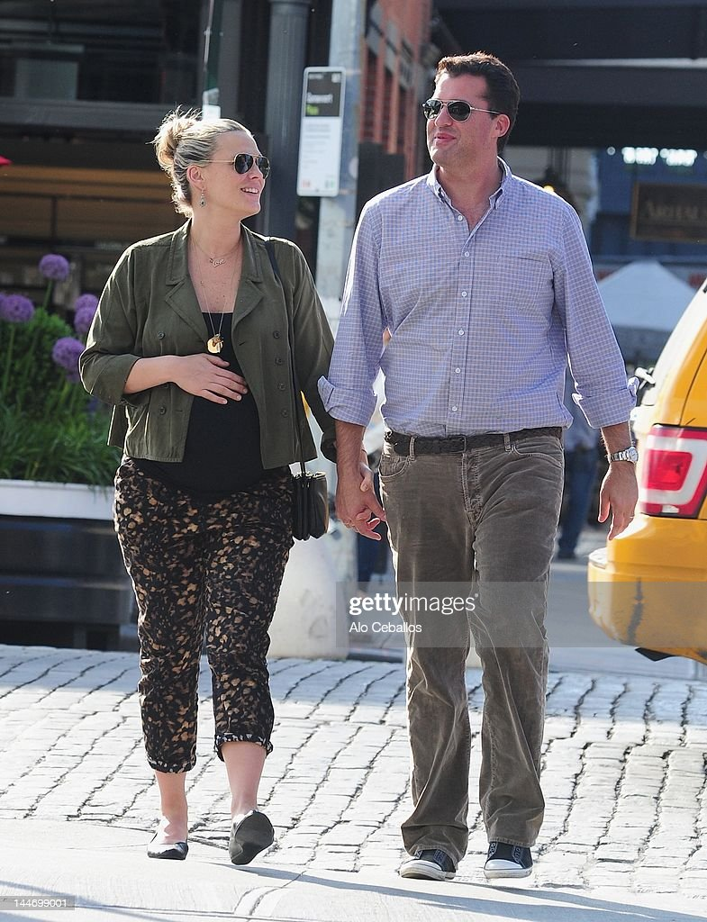 Molly Sims and Scott Stuber sighting on May 17 2012 in New York City