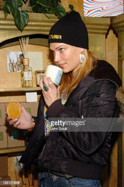 Molly Sims at Fred Segal during 2005 Park City Fred Segal Boutique at Village at the Lift at Village at the Lift in Park City Utah United States