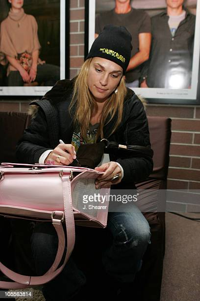 Molly Sims at the HP Digital Lounge during 2005 Sundance Film Festival HP Portrait Studio Presented by WireImage at HP Portrait Studio in Park City...