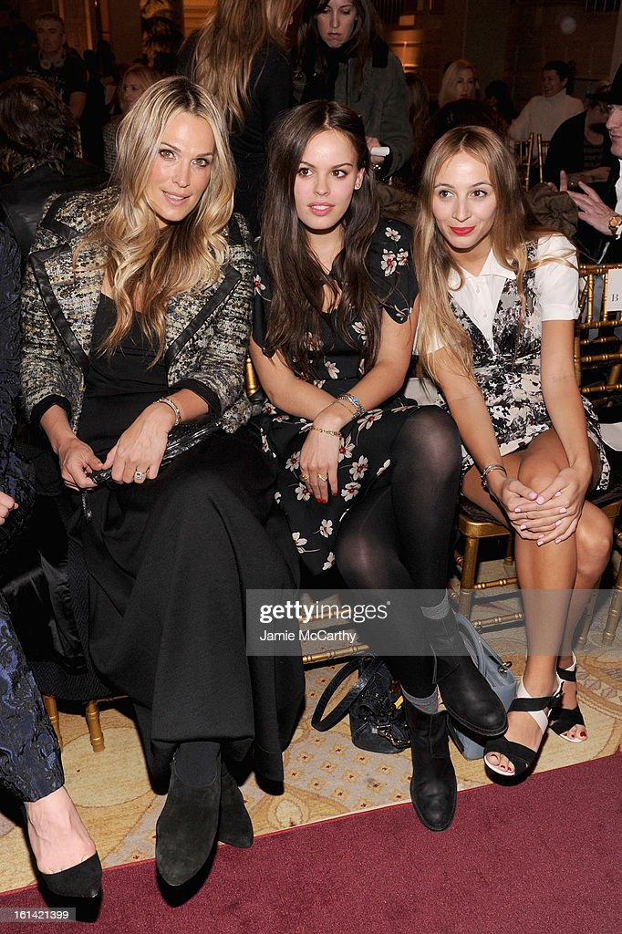 <a gi-track='captionPersonalityLinkClicked' href=/galleries/search?phrase=Molly+Sims&family=editorial&specificpeople=202547 ng-click='$event.stopPropagation()'>Molly Sims</a>, Atlanta De Cadenet and Harley Viera-Newton attend the Zac Posen Fall 2013 fashion show during Mercedes-Benz Fashion Week on February 10, 2013 in New York City.