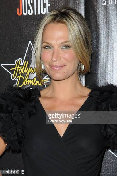 Molly Sims attends 3rd Annual PreOscar Hollywood DOMINO Gala Benefiting Artists for Peace and Justice at BAR 210 on March 4 2010 in Beverly Hills...