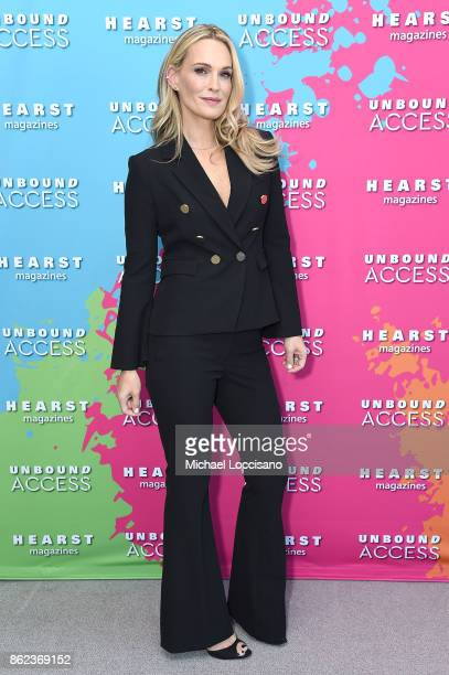 Molly Sims attends Hearst Magazines' Unbound Access MagFront at Hearst Tower on October 17 2017 in New York City