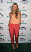Molly Sims attends the 2013 US Open KickOff Party at PHD Rooftop Lounge at Dream Downtown on August 22 2013 in New York City