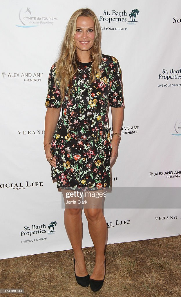 <a gi-track='captionPersonalityLinkClicked' href=/galleries/search?phrase=Molly+Sims&family=editorial&specificpeople=202547 ng-click='$event.stopPropagation()'>Molly Sims</a> attends the 2nd Annual St. Barth Hamptons Gala hosted by Social Life Magazine on July 20, 2013 in Bridgehampton, New York.