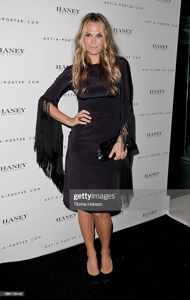Molly Sims attends the Haney Pret-A-Couture launch hosted by Net-A-Porter at mmhhmmm at The Standard, Hollywood on January 30, 2014 in West Hollywood, California.