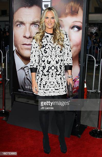 Molly Sims attends the 'Identity Thief' Premiere held at Mann Village Theatre on February 4 2013 in Westwood California
