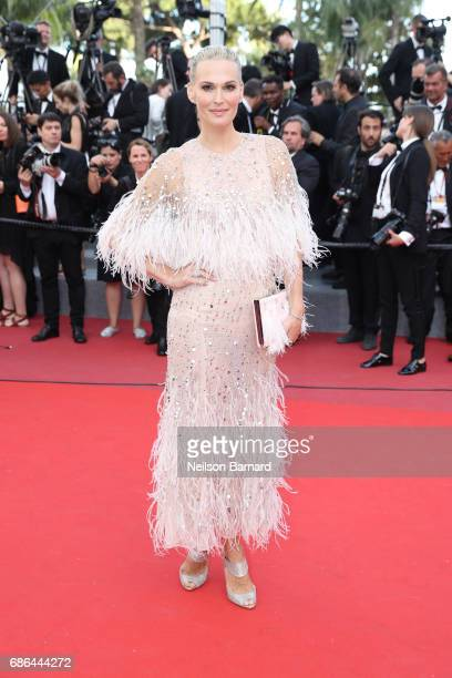 Molly Sims attends 'The Meyerowitz Stories' screening during the 70th annual Cannes Film Festival at Palais des Festivals on May 21 2017 in Cannes...