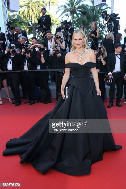 Molly Sims attends the 'Okja' screening during the 70th annual Cannes Film Festival at Palais des Festivals on May 19 2017 in Cannes France