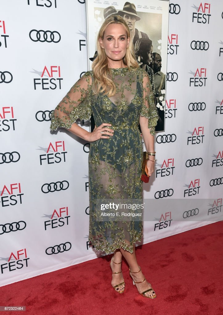 Molly Sims attends the screening of Netflix's 'Mudbound' at the Opening Night Gala of AFI FEST 2017 Presented By Audi at TCL Chinese Theatre on November 9, 2017 in Hollywood, California.