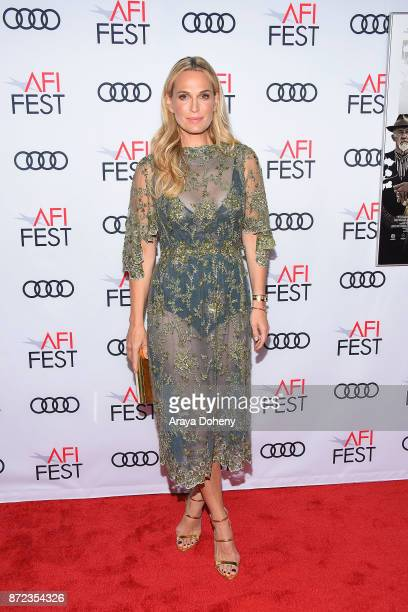 Molly Sims attends the screening of Netflix's 'Mudbound' at the Opening Night Gala of AFI FEST 2017 presented by Audi at TCL Chinese Theatre on...
