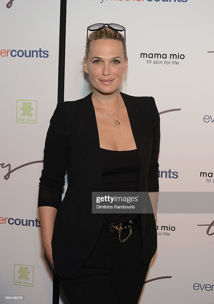 Molly Sims attends The Tracy Anderson Method Pregnancy Project at Le Bain At The Standard on October 5, 2012 in New York City.