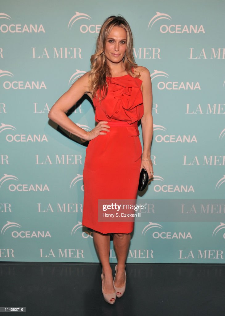 Molly Sims attends World Ocean Day 2011 celebrated by La Mer and Oceana at Affirmation Arts on May 18 2011 in New York City