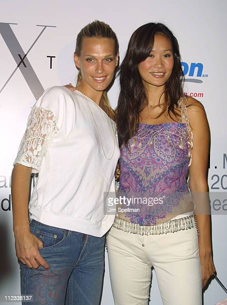 Molly Sims Audrey Quock during Next Model Search Finalist Party at Serafina in New York City New York United States