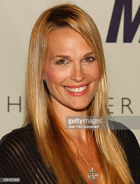 Molly Sims during 11th Annual Race To Erase MS Gala Arrivals at The Westin Century Plaza Hotel in Los Angeles California United States