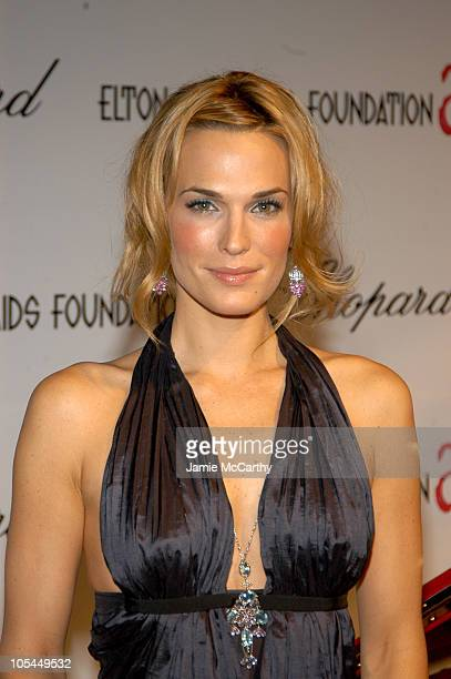 Molly Sims during 13th Annual Elton John AIDS Foundation Oscar Party Cohosted by Chopard Inside at Pacific Design Center in West Hollywood California...