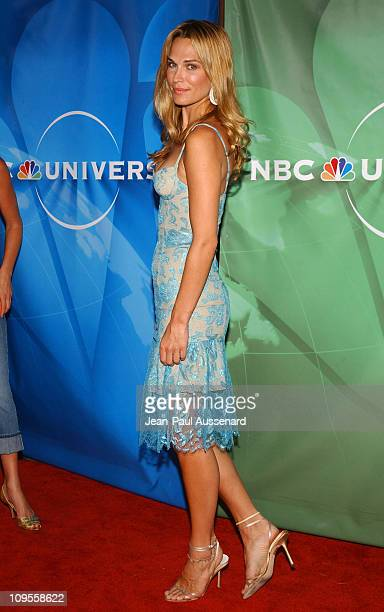 Molly Sims during 2004 NBC All Star Party Arrivals at Universal Studios in Universal City California United States