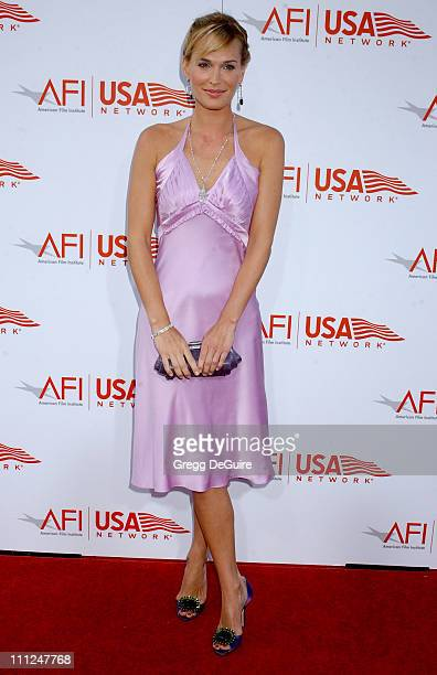 Molly Sims during 33rd AFI Life Achievement Award Honoring George Lucas at Kodak Theatre in Hollywood California United States