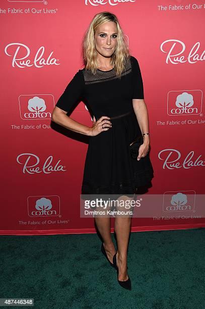 Molly Sims hosts Cotton Rue La La's fashion showcase at Il Principe at Hotel Hugo on September 9 2015 in New York City