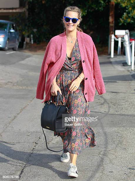 Molly Sims is seen on January 14 2016 in Los Angeles California