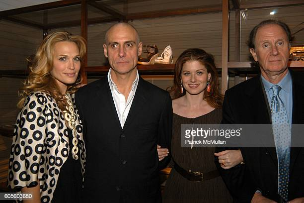 Molly Sims Marco Franchini Debra Messing and David Bonderman attend BALLY New York Flagship ReOpening With W Magazine and Central Park Conservancy at...