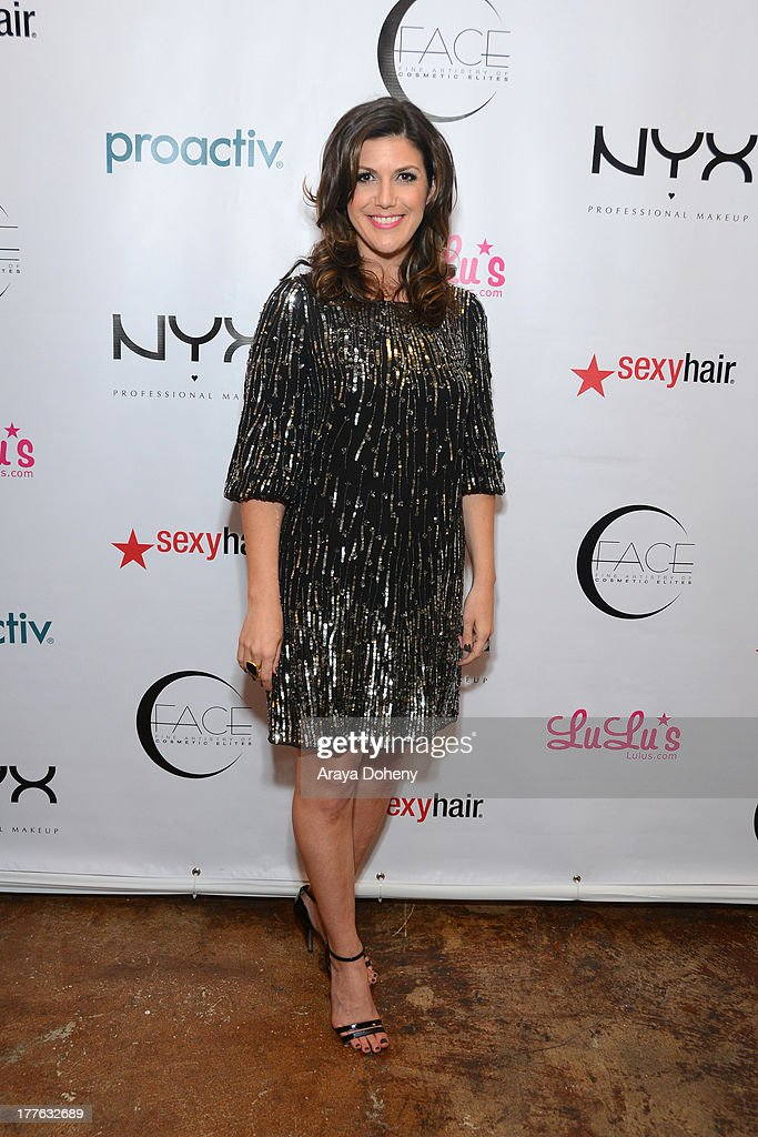 Molly Sloat attends the NYX Cosmetics FACE Awards at Beautycon at Siren Studios on August 24, 2013 in Hollywood, California.