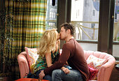 Molly Stanton and Nick Lachey Nick Lachey guest stars on the WB's 'Twins' set to air in February 2006 *EXCLUSIVE*