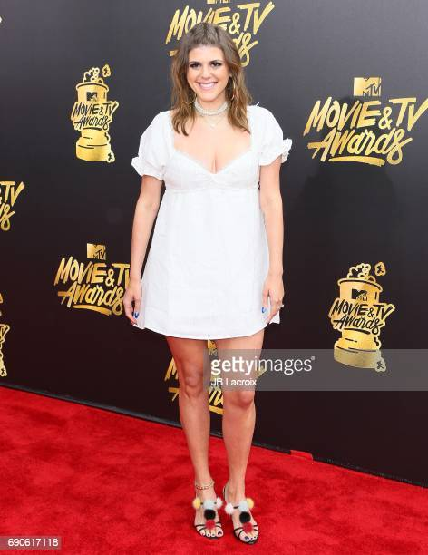 Molly Tarlov attends the 2017 MTV Movie and TV Awards at The Shrine Auditorium on May 7 2017 in Los Angeles California