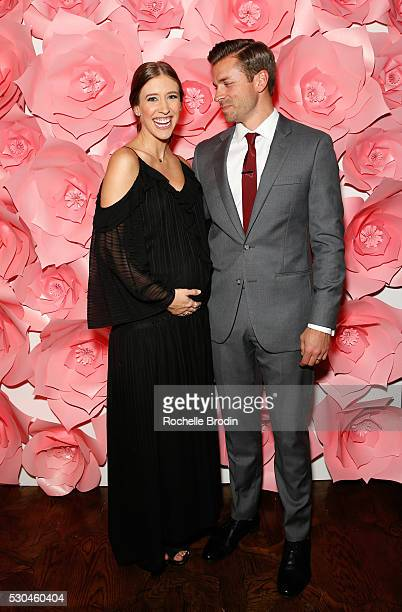 Molly Thompson and Christopher Thompson attend the Who What Wear Visionaries Launch at Ysabel on May 10 2016 in West Hollywood California