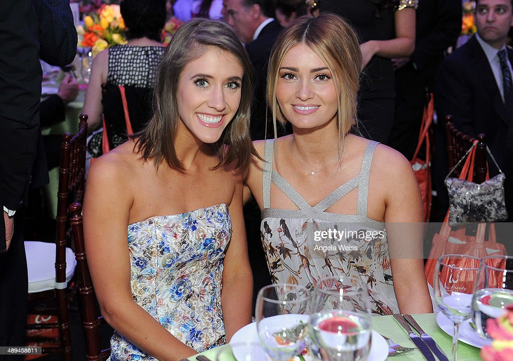 Molly Thompson and Lauren Parsekian-Paul attend the 'Open Hearts Foundation Gala' on May 10, 2014 in Malibu, California.