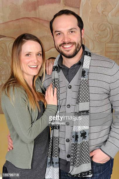 Molly Thompson and Will Prescott attend the SAGIndie Brunch at Cafe Terigo on January 20 2013 in Park City Utah