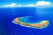 Molokini Crater, Maui, Hawaiian Islands