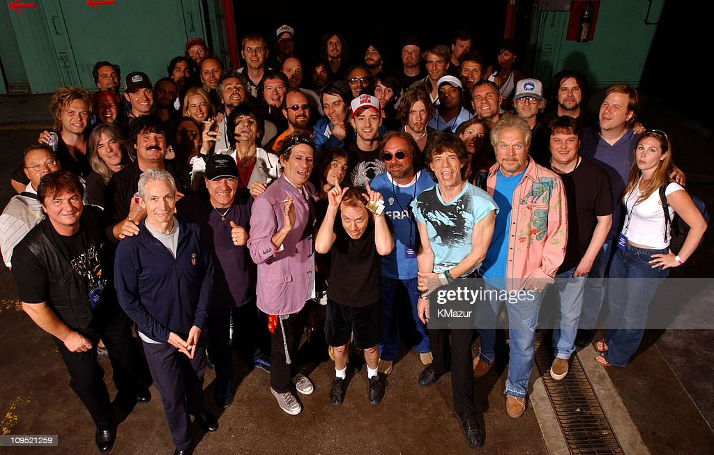 The Rolling Stones, AC/DC, Justin Timberlake, The Guess Who and guests