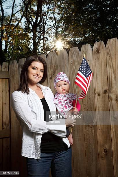 Mom and Baby--Americana