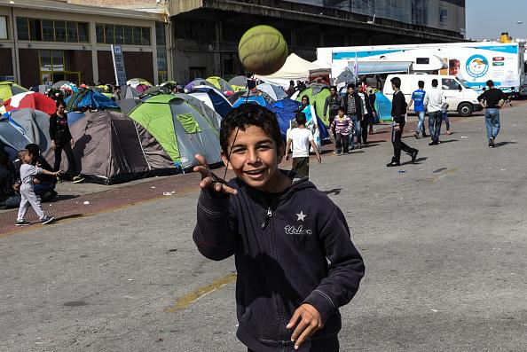 Europe's Migrants Crisis - Passenger Terminal E2 Camp