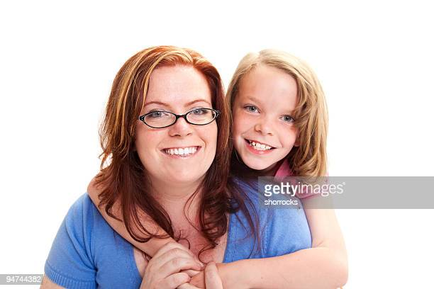 Mommy and Daughter Portrait