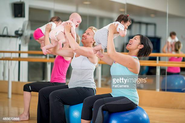 Mommy and Me Exercise Class