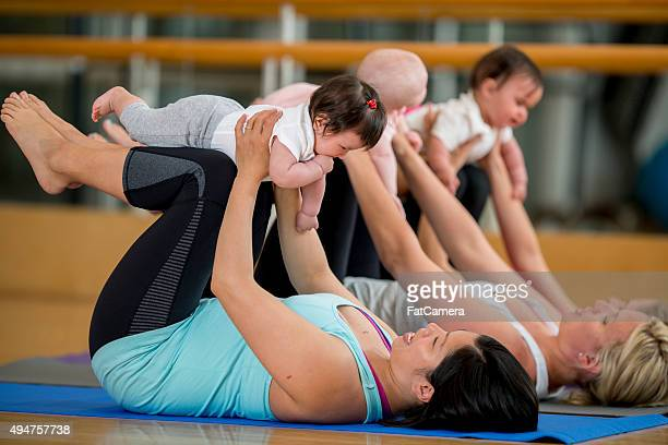 """""""Mommy and Me Yoga-Kurs"""""""