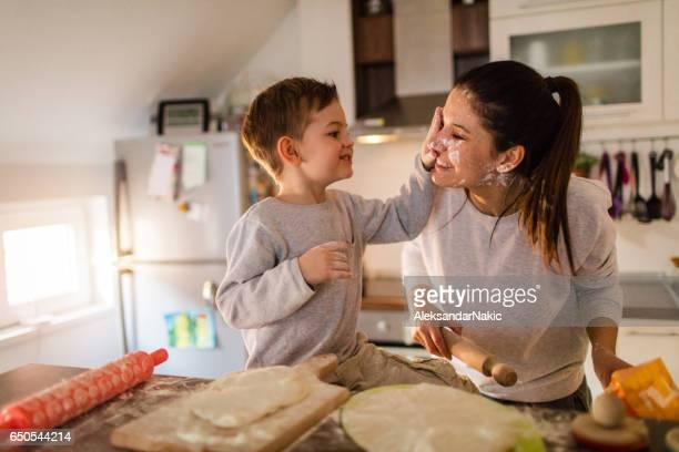 Mom's little baker