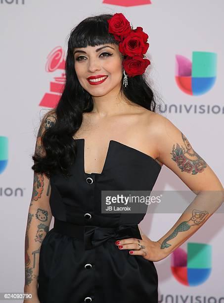 Mon Laferte attends the 17th Annual Latin Grammy Awards on November 17 2016 in Las Vegas Nevada