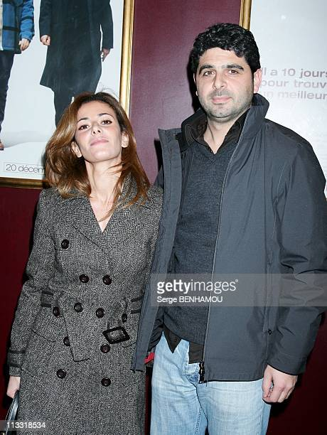 'Mon Meilleur Ami' Premiere In Paris France On December 11 2006 Elsa Fayer and her friend