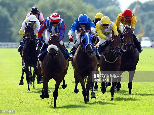 C'mon You Irons ridden by Jim Crowley wins the Totetrifecta Handicap Stakes at Royal Windsor Racecourse on June 27 2009 in Windsor England