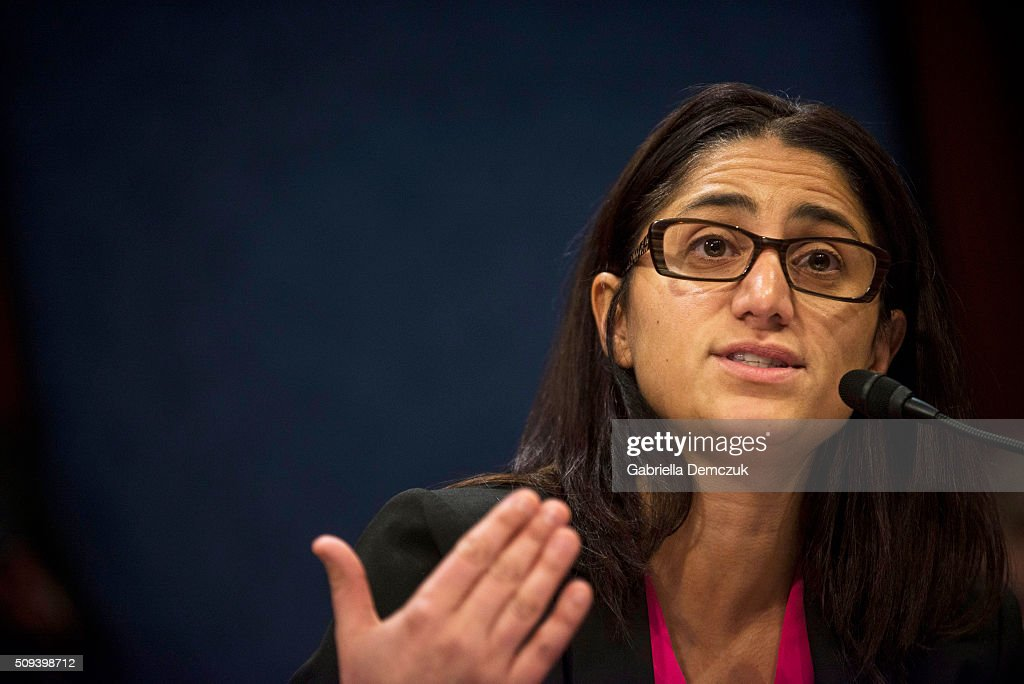 Mona Hanna-Attisha, director of the Pediatric Residency Program at Hurley Medical Center testifies before the House Democratic Steering & Policy Committee at a hearing titled, 'The Flint Water Crisis: Lessons for Protecting America's Children' at the Capitol on February 10, 2016 in Washington, D.C. House Democrats hold a hearing on the toxic lead water crisis in Flint, MI.