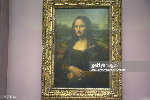 Mona Lisa by Leonardo Da Vince at the Louvre Museum Paris France