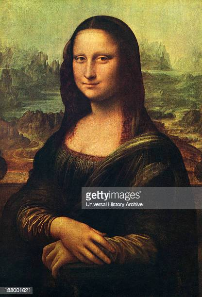 Mona Lisa By Leonardo Da Vinci From The World's Greatest Paintings Published By Odhams Press London 1934