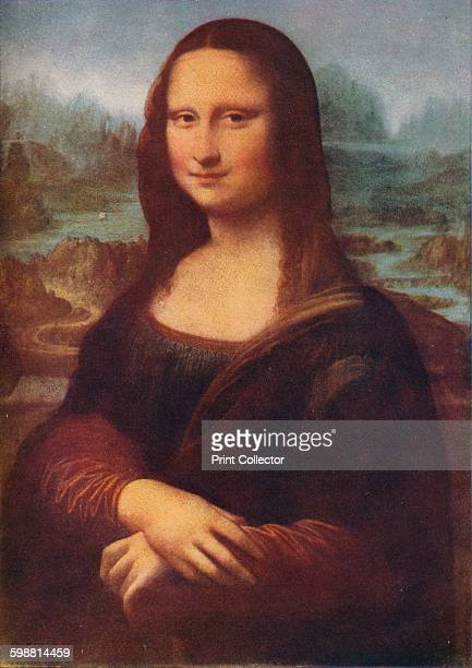 Mona Lisa circa 1503 Portrait of Lisa Gherardini wife of Francesco del Giocondo known as the Mona Lisa Painting held at the Louvre Museum Paris From...