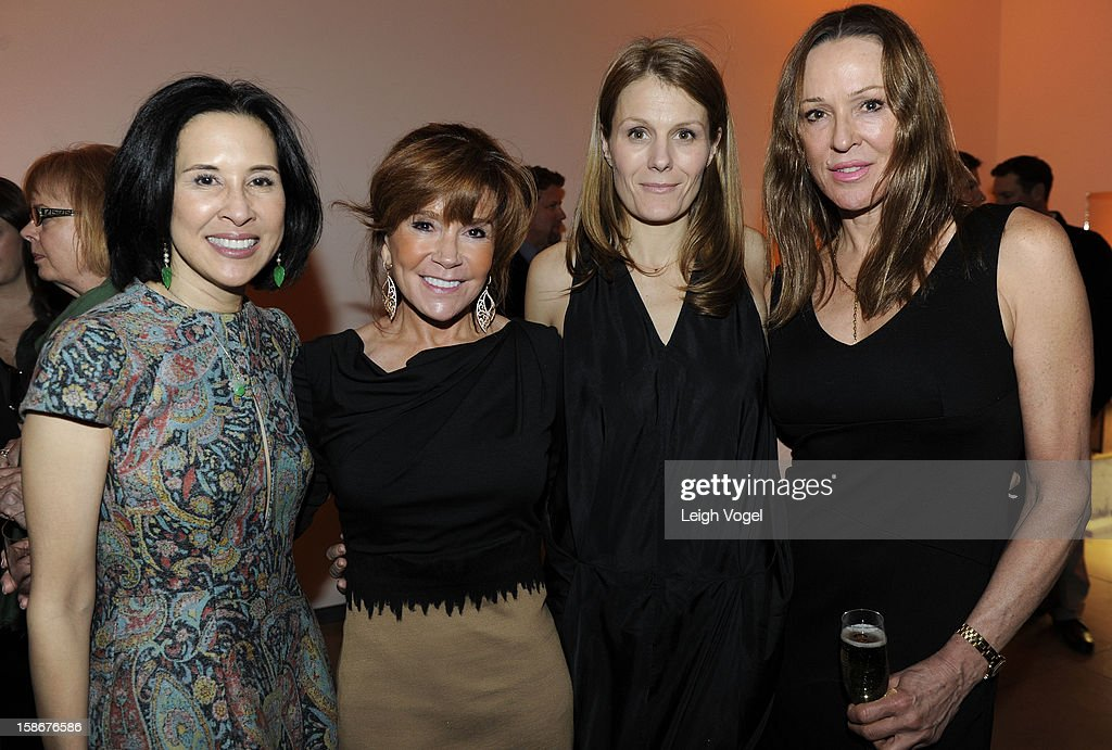 Mona Look-Mazza, Angie Stewart, Anne Vincent and Pam Alexander attend Angie Stewart, Carolyn Powers, Mona Look-Mazza And Richard Edwards host an exclusive celebration of the Fendi Resort 2013 Collection at Baldwin Gallery on December 22, 2012 in Aspen, Colorado.
