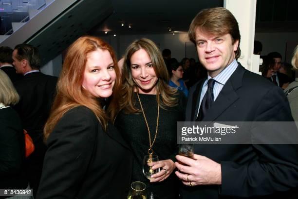 Mona Maine de Biran Mary Miller and Didier Maine de Biran attend KIPP NYC Cocktails With MALCOLM GLADWELL and DIANE VON FURSTENBERG at Diane von...